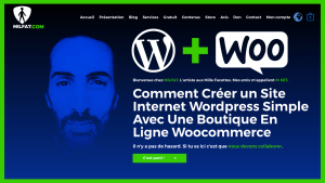 comment creer un site internet wordpress simple avec une boutique en ligne woocommerce tutoriel video par milfa7 vignette youtube