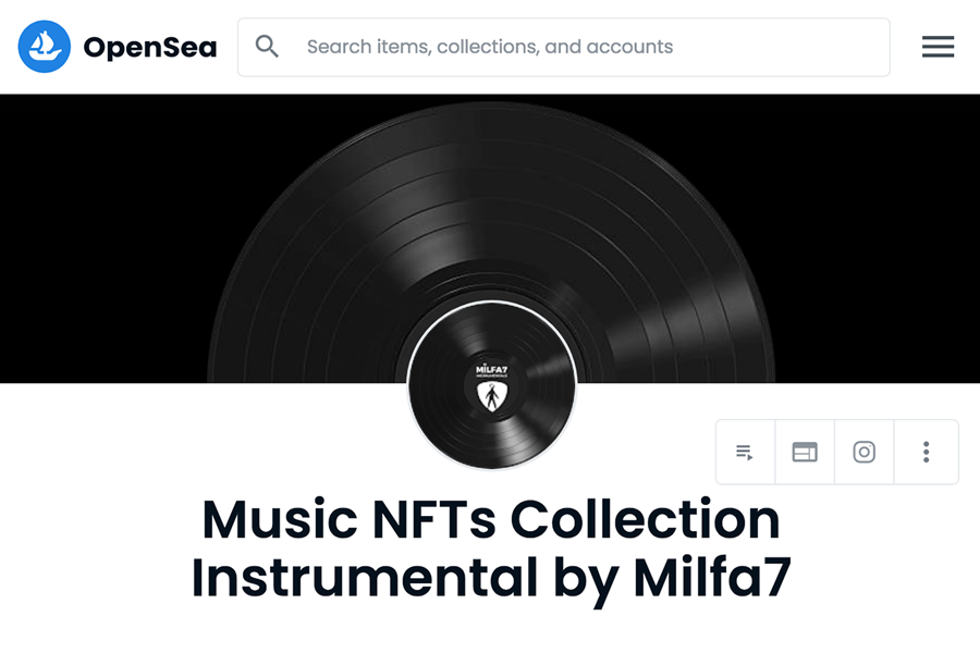 opensea-music-nft-instrumental-collection-milfa7-instrumentals-opensea-collection